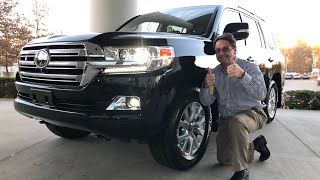 Congrats on Your 2019 Toyota Land Cruiser - It's Loaded!