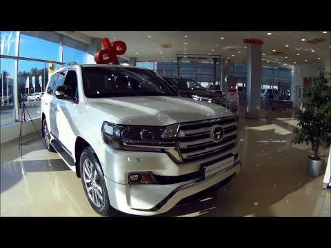 Toyota Land Cruiser 200. Обзор!  Тест-драйв на скорости 129км. ч.
