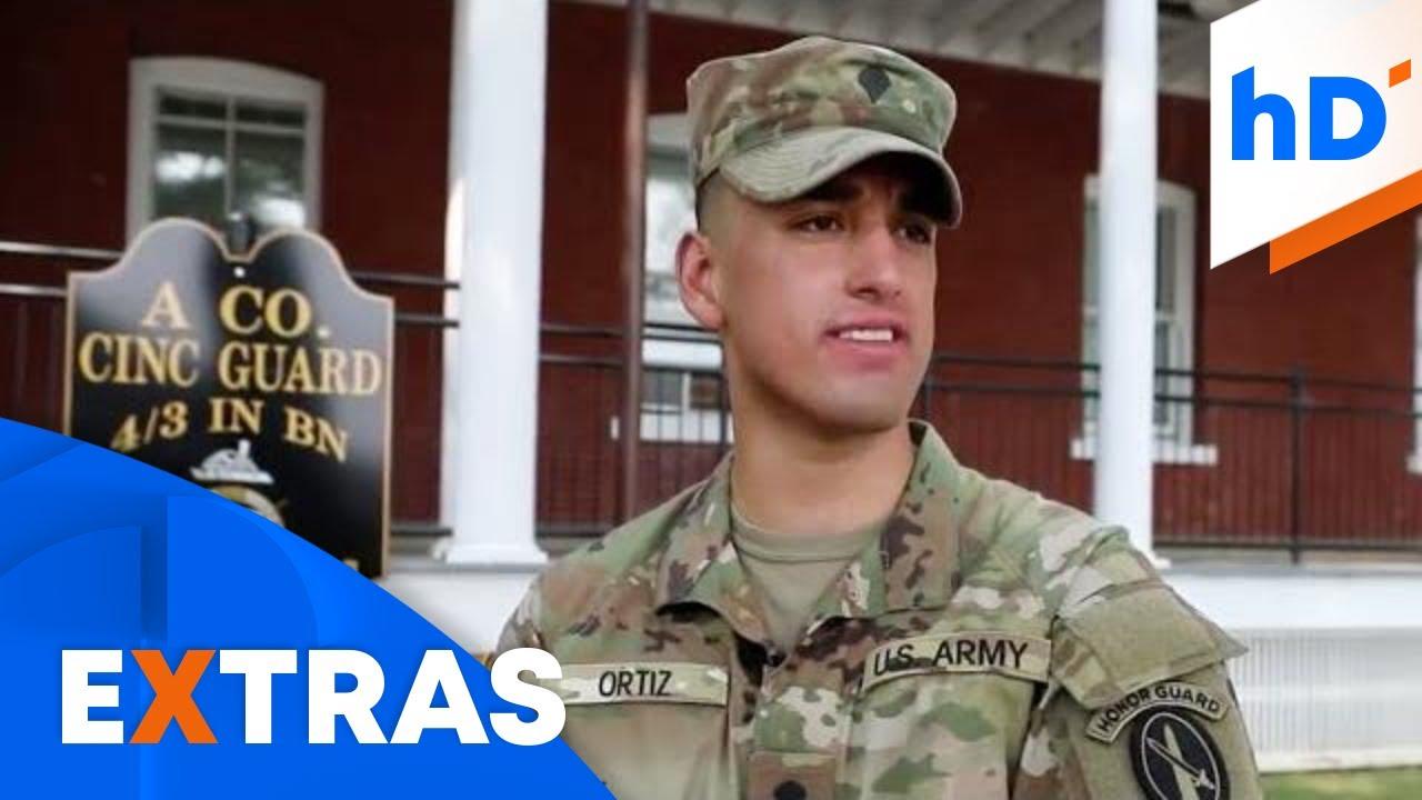 Emigró a los 17 años de México a EE.UU. con el sueño de ser soldado de la US Army y así lo logró