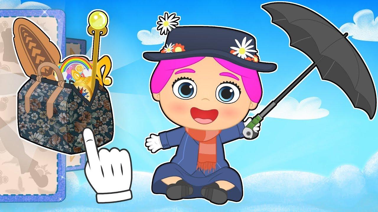 Mary Poppins Dibujos Para Colorear: BEBE LILY 🌂 Disfraz De Mary Poppins