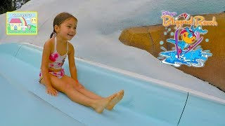 Disney's Blizzard Beach Water Park Family Raft is Worlds Longest WaterSlide | Best Vacation for Kids thumbnail