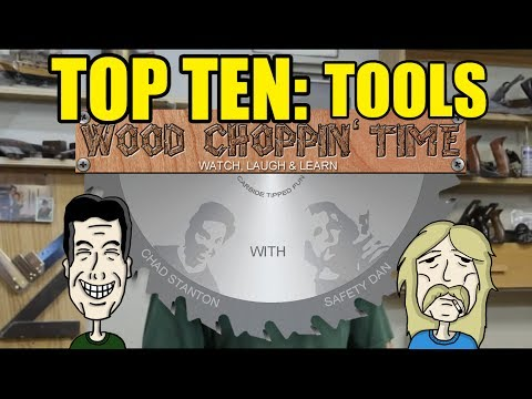 What should be your Top 10 tools to buy for Woodworking?