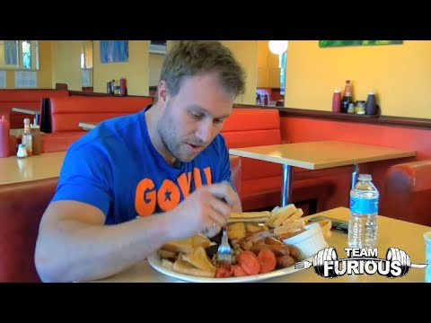 Furious World Tour | London, UK - $2,000 Burger, Parkour, Big Breakfasts and More | Furious Pete