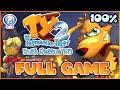 Ty the Tasmanian Tiger 2: Bush Rescue HD FULL GAME 100% Longplay (PS4)