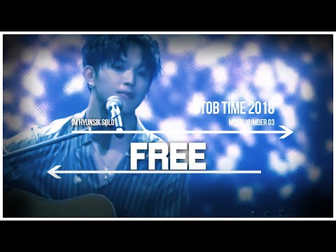 03. BTOB TIME Questions, and Free - HyunSik Solo Live Stage
