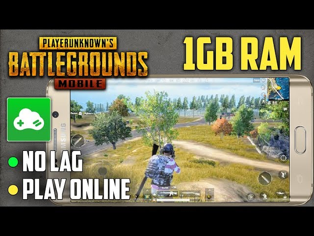 how to play pubg on 1gb ram pc