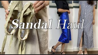 여름 샌들 하울 ( Summer sandal haul …