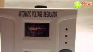 Стабилизатор питания Gresso AVR T1200VA обзор / review