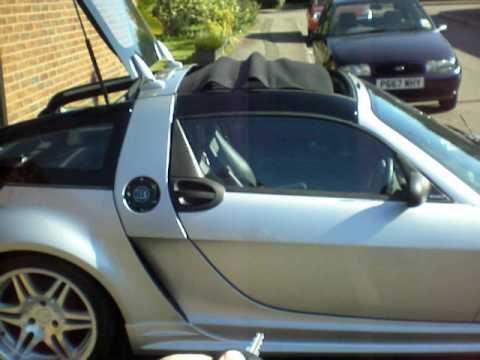 smart brabus roadster coupe youtube. Black Bedroom Furniture Sets. Home Design Ideas