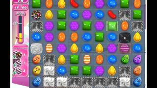 Candy Crush Saga Level 257 - 3 Stars No Boosters