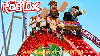 Roller Coaster Tycoon feat Kevinatore19008 / roblox (Pub mensongére)