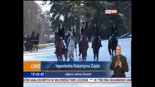 Hubertus 2012 w THK Wolbórz   relacja w Telewizji Łódź