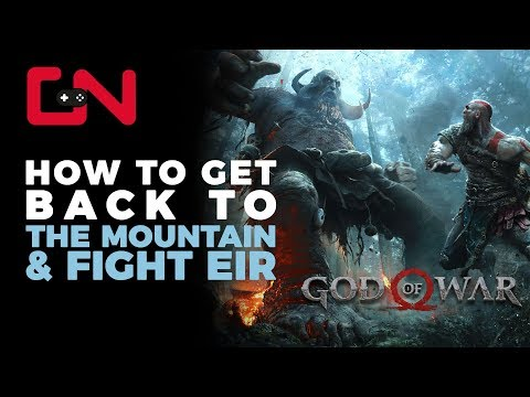 God of War How to Get Back to Mountain & Fight Eir