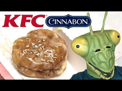 New KFC Cinnabon Dessert Biscuits review!