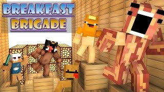 Minecraft Breakfast Brigade : RUN FROM THE CEREAL KILLER!!