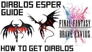 Brave Exvius Diablos Esper Guide - How to unlock Diablos in Dirnado (Spoiler free)