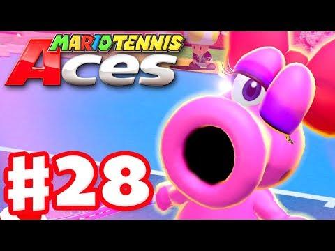 Mario Tennis Aces - Gameplay Walkthrough Part 28 - Birdo! Online Tournament! (Nintendo Switch) - 동영상