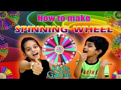 How to make spinning wheel