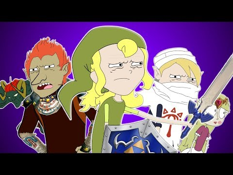 ♪ ZELDA: OCARINA OF TIME SONG - Animation Parody