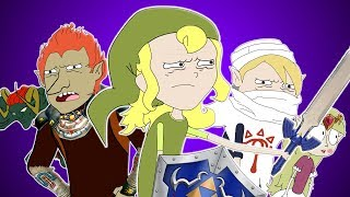 - ZELDA OCARINA OF TIME SONG Animation Parody