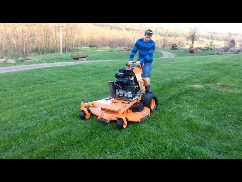 """2010 Scag 52"""" stand on mower"""