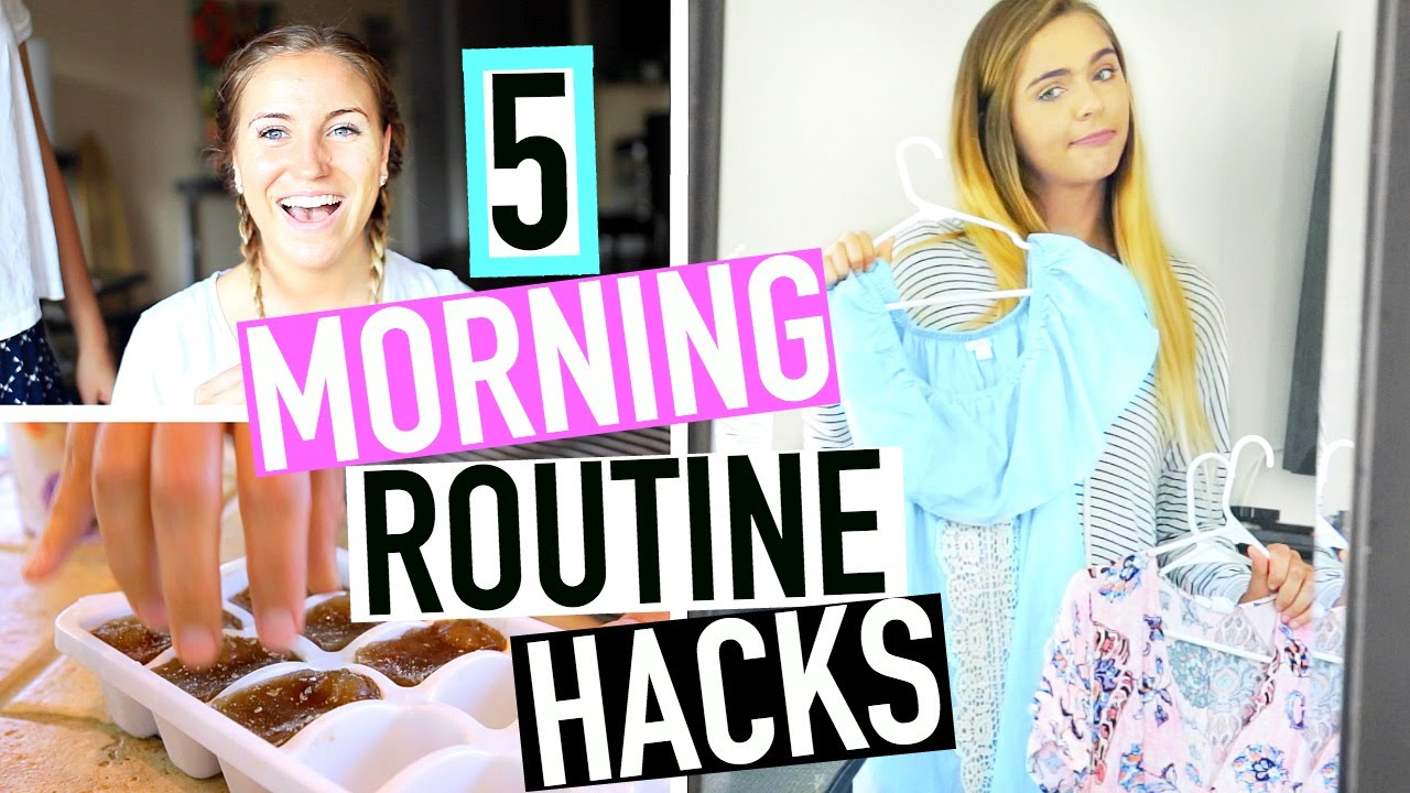 5 Morning Routine LIFE HACKS You Need to Try!