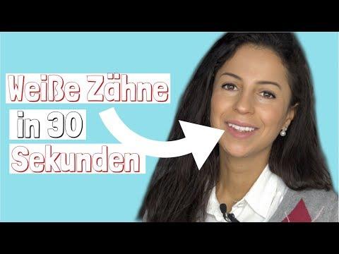 Weiße Zähne in 30 Sekunden, günstig und effektiv! Haushaltsmittelиз YouTube · Длительность: 5 мин41 с