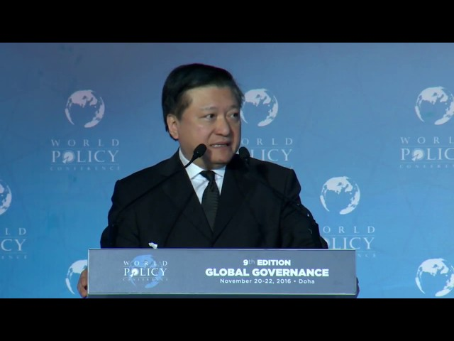 WPC 2016 Plenary session 2: Ethics and Government-Business relations