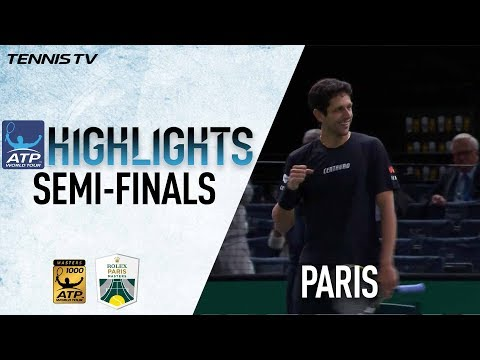 Doubles SF Highlights: Kubot/Melo Blast Into Paris 2017 Final
