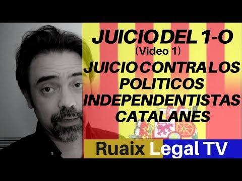 Juicio del 1-O | Jucio del Proces politicos catalanes | Independencia Catalunya| Noticias | Directo