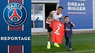 Le séjour de rêve de Davi avec les joueurs du Paris Saint-Germain