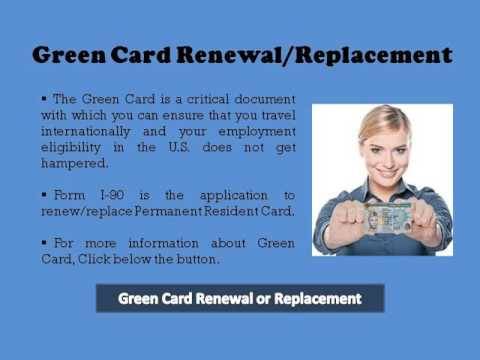 Green Card Renewal Overview