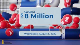 Lotto 6/49 Draw, - August 5, 2020