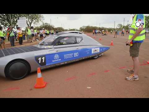 Bridgestone World Solar Challenge 2017 - Tag 2
