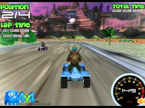 Teenage Mutant Ninja Turtles Severs Race 3d (Черепашки ниндзя: канализационные гонки 3Д)