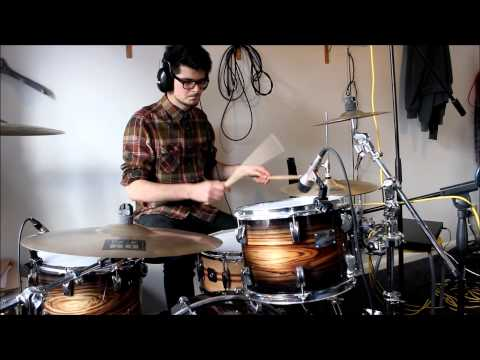 Foals - Milk and Black Spiders (Drum Cover)