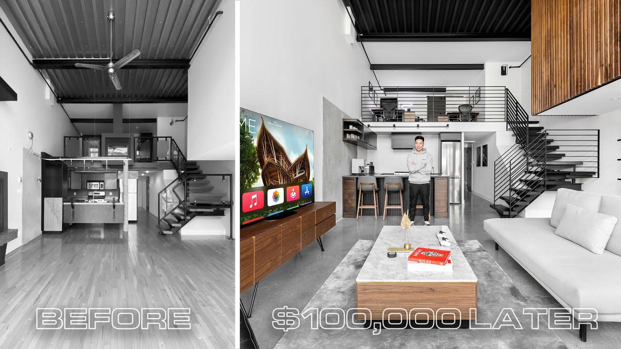 Download My $100,000 Condo Loft Renovation Makeover // Full Cost Breakdown!