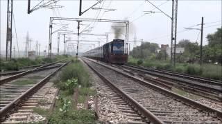 Very loud honking by Farakka Express