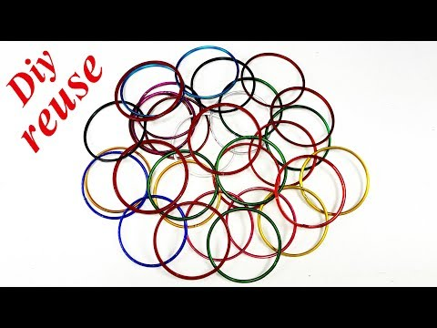 Diy old bangles reuse idea | DIY arts and crafts | Amazing craft idea | Best craft idea