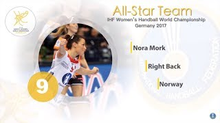 Nora Mork - All-star right back | IHFtv - Germany 2017