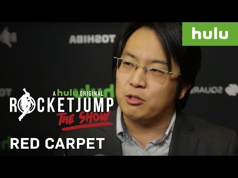 Freddie Wong & Matt Arnold on the Red Carpet | RocketJump: The Show on Hulu