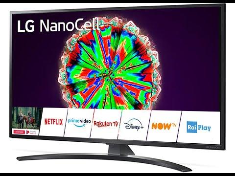 LED LG Smart TV 43NANO793NE Unboxing & Test