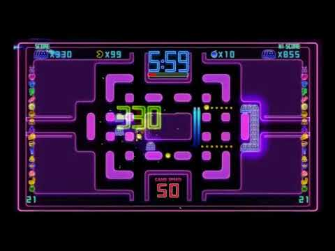 PAC-MAN Championship Edition DX | Manhattan - Ghost Combo - 864