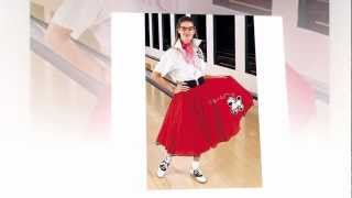 Poodle Skirt Costume | Ladies Poodle Skirt Costumes