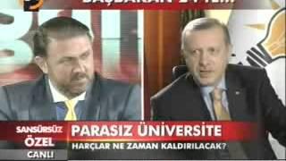 Başbakan Erdoğan  Yiğit Bulut un Konuğu Sansürsüz  Özel Tv24 (25.07.2012)