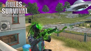 ALIENS AT TRAINING BASE?! Rules of Survival