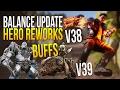 Paragon v38/v39 Patch & Hero Reworks