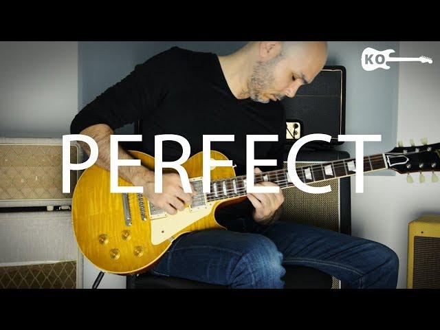 Ed Sheeran - Perfect - Electric Guitar Cover by Kfir Ochaion