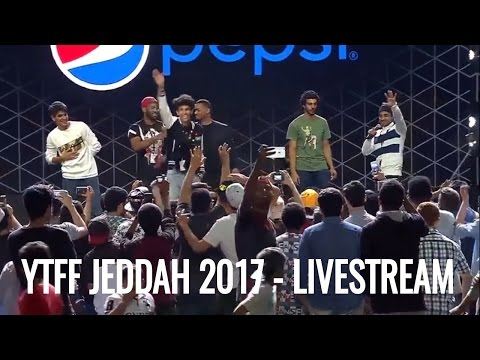 YouTube FanFest Jeddah 2017 - Livestream