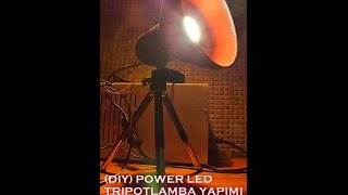 (DIY) Softbox yapımı. (portable softbox with tripod)